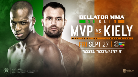 MVP to face Richard Kiely at Bellator Dublin