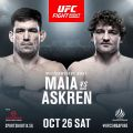 Maia v Askren confirmed for Singapore