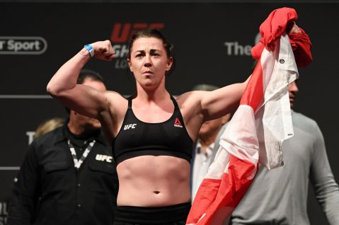 Molly McCann added to UFC Fight Night: Boston