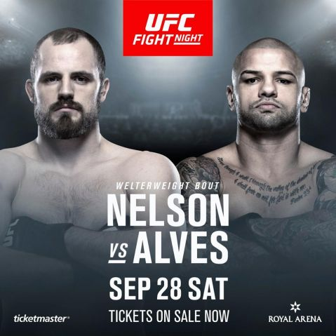 First fight confirmed for UFC Fight Night Copenhagen
