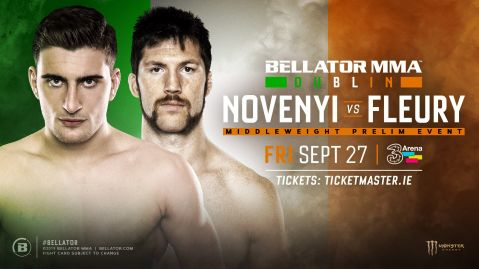 Will Fleury added to Bellator Dublin card
