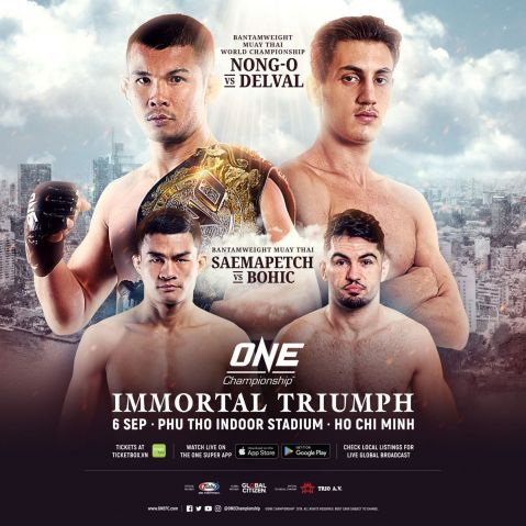 Nong-O Gaiyanghadao to defend title at ONE: Immortal Triumph