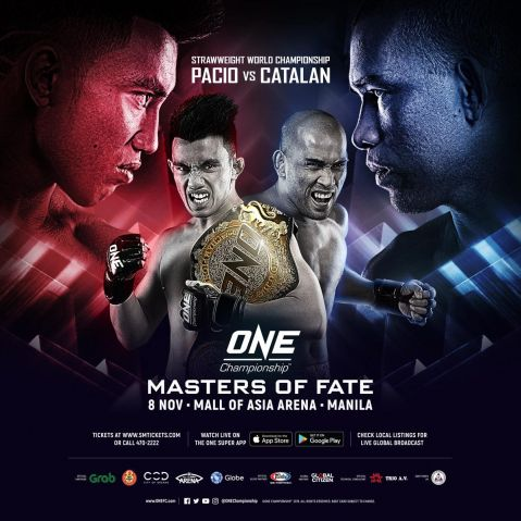 Initial bouts announced for ONE: Masters of Fate