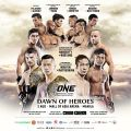 Three new bouts announced for ONE: Dawn of Heroes