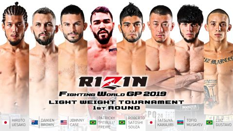 Eight confirmed for RIZIN lightweight grand prix