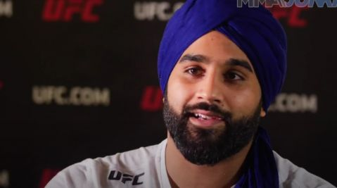 Arjan Bhullar is wearing his turban to UFC on FOX 29: 'Embrace that uniqueness and ability to stand out'