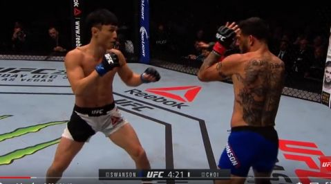 UFC Fight Night St. Louis Free Fight: Cub Swanson vs Dooho Choi
