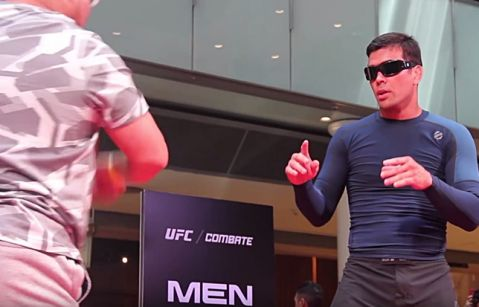 UFC Sao Paulo: Lyoto Machida Open Workout Highlights (VIDEO)