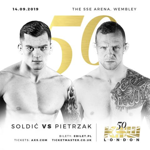 KSW 50: Kincl out of Soldić fight