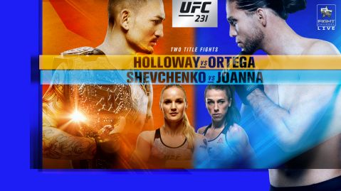 UFC 231: Holloway vs. Ortega fight card