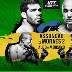 UFC Fight Night: Assuncao vs. Moraes 2 fight card