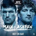 UFC Fight Night: Maia vs Askren results