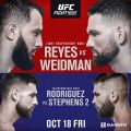 UFC Fight Night: Reyes vs Weidman results
