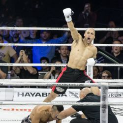 Former Featherweight champions face off at GLORY 67