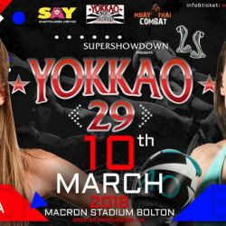 YOKKAO 29: Dakota Ditcheva vs Hannah Brady!