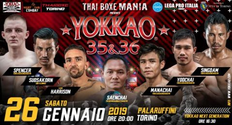 Star-Studded Lineup Confirmed For YOKKAO 35 – 36