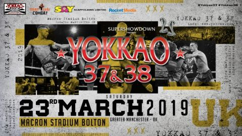 YOKKAO 37 – 38 Returns To UK On 23rd March 2019