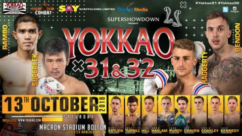 Full Fight Card Released for YOKKAO 31 – 32