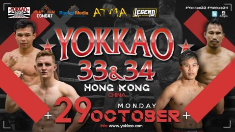 YOKKAO Fight Team Headlines YOKKAO 33 – 34 In Hong Kong