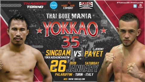 Singdam Vs Jeremy Payet To Headline YOKKAO 35
