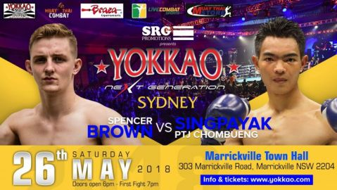 Spencer Brown Headlines YOKKAO Next Generation Sydney