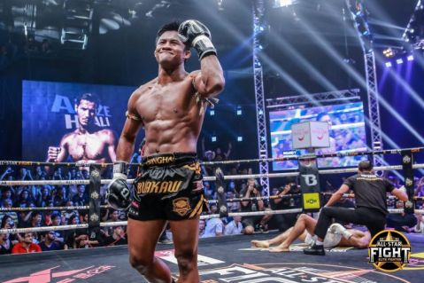 Buakaw, Pakorn and Manachai dominate the game at All-Star Fight!