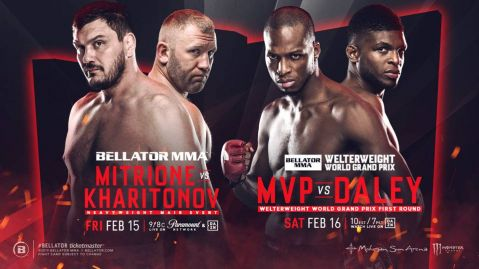 Bellator Returns to Mohegan Sun Arena for Massive Doubleheader on February 15 & 16