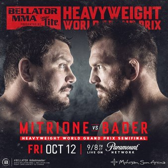 'Bellator 207: Countdown' – Ryan Bader vs. Matt Mitrione: Episode 1