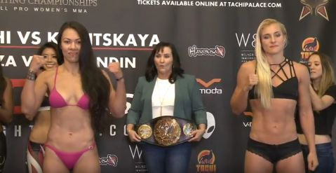 Invicta FC 25 weigh-in results