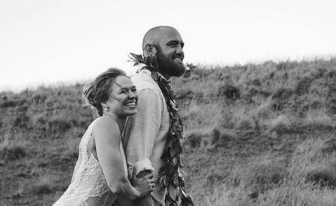 Ronda Rousey and Travis Browne Got Married While the World Watched Mayweather vs. McGregor
