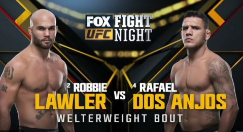 Video highlights: Rafael dos Anjos vs Robbie Lawler!