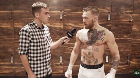 Conor McGregor discusses completion of training camp for Floyd Mayweather (VIDEO)
