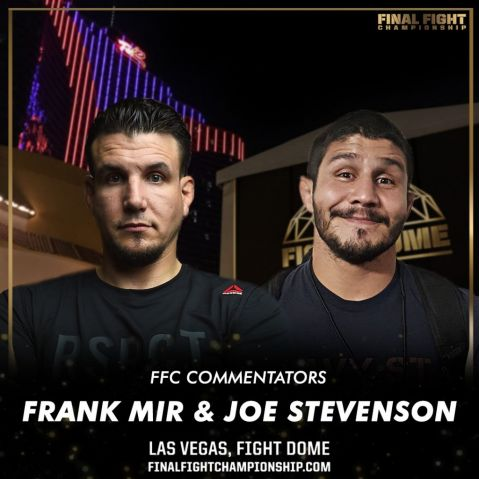 Frank Mir Joins FFC Commentary Team!