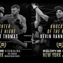 Thomas and Vannostrand win GLORY 48 bonus awards