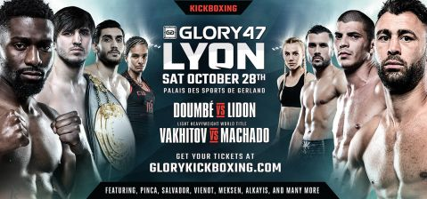 GLORY Brings France's Finest to Palais des Sports de Gerland