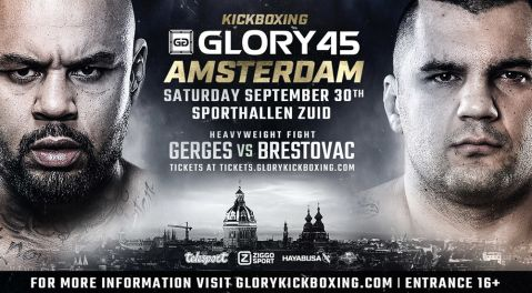 Heavyweights Hesdy Gerges and Mladen Brestovac Headline GLORY 45 SuperFight Series