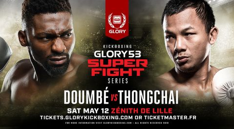 GLORY 53 SuperFight Series Co-Headliner Yousri Belgaroui Battles Polish Kickboxing Champion Dawid Kasperski