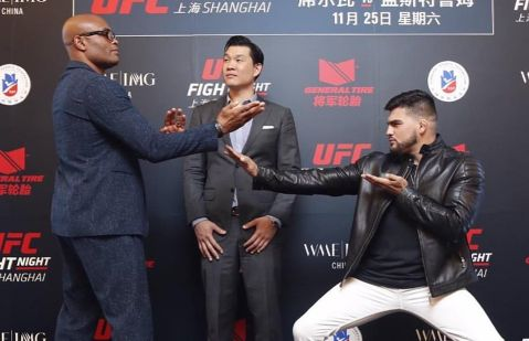 Anderson Silva vs. Kelvin Gastelum as UFC's Shanghai debut main event