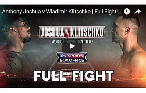 Anthony Joshua vs. Wladimir Klitschko Full Fight (VIDEO)