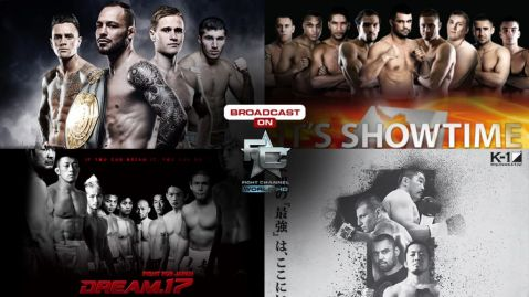 Fight Channel World HD brings you Glory, It's Showtime, DREAM and K-1 events!