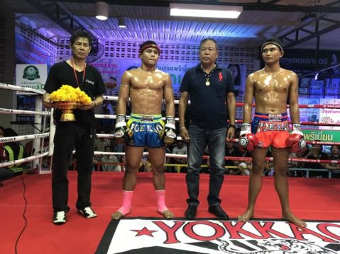 YOKKAO strikes 3 wins in 2 days in Thailand!