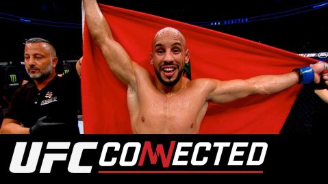 "New ""UFC Connected"" episode out now – Mirsad Bektic and Abu Azaitar at Fight Night Hamburg!"