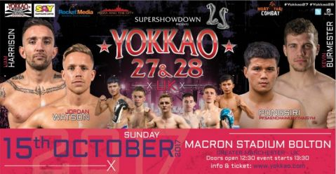 Full Fight Card for YOKKAO 27 – 28!