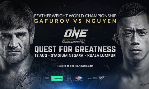 ONE: Quest For Greatness – Gafurov VS Nguyen