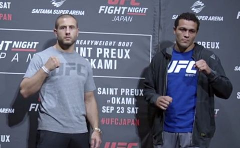 Fight Night Japan: Media Day Faceoffs (VIDEO)