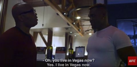 'UFC 218 Embedded,' No. 2: Francis Ngannou and Anderson Silva