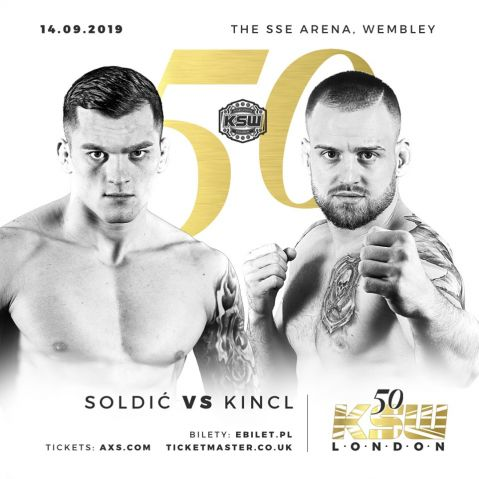 Roberto Soldić to defend title against Patrik Kincl at KSW 50