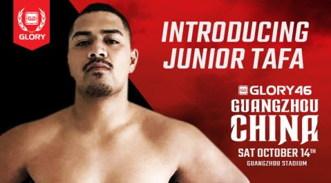 Introducing Glory debutant Junior Tafa