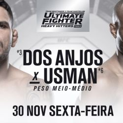 TUF 28 Finale: Dos Anjos vs. Usman fight card