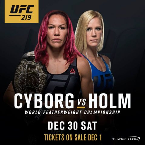 UFC 219: Cyborg vs. Holm brutal promo videos out!
